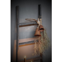 Zinken hangklok Roest 14 cm