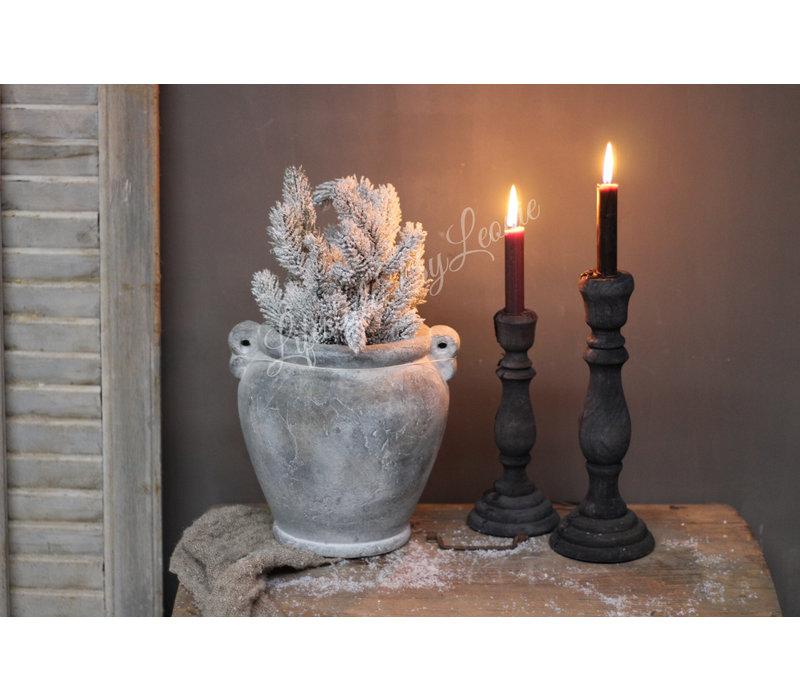 Brynxz stenen pot Baroque 24 cm
