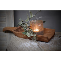 Houten schep Natural wood 42 cm