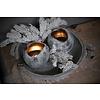 Brynxz Brynxz ronde waxinelichthouder brons/grey