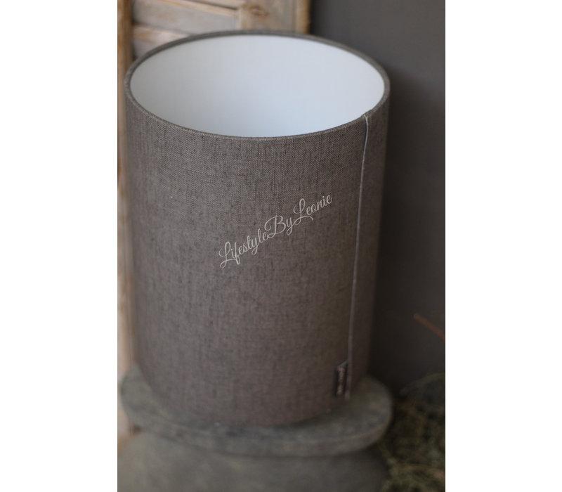Brynxz cilinder lampenkap Grey 28 cm