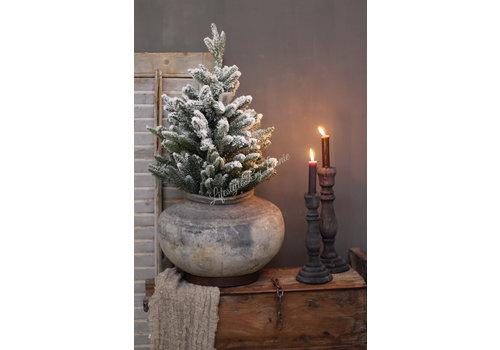LifestyleByLeonie Pinetree kerstboom Snow white 60 cm