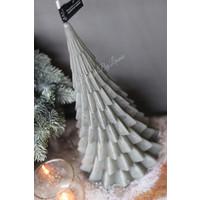 Kerstboom kaars stone 40 cm