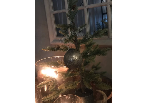 LifestyleByLeonie Sobere glazen kerstbal Soda mudd 10 cm