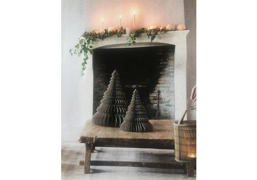 LifestyleByLeonie Papieren kerstboom grijs  30cm