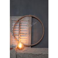 Grote ring van robuust touw 50 cm