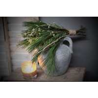 Winter toefje Kiefer/White limonium