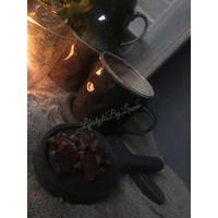 Sobere bruin/groen kleurige mok