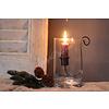 LifestyleByLeonie Glazen cilinder windlicht 15 cm