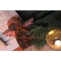 Houten engel 28 cm