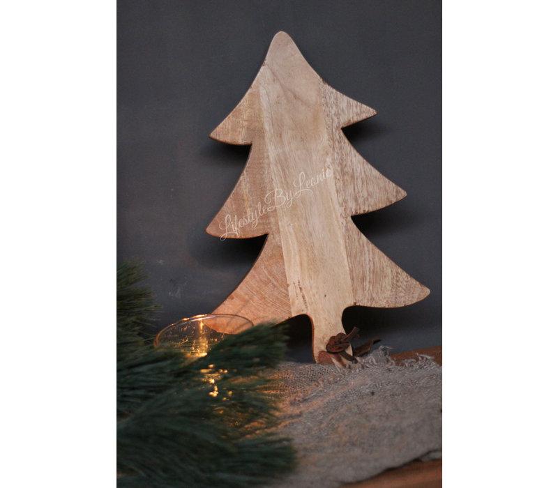 Houten tapas plank / tray 'Tree' |37cm