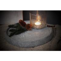 Brynxz stenen schaal 'Rope'| 29cm