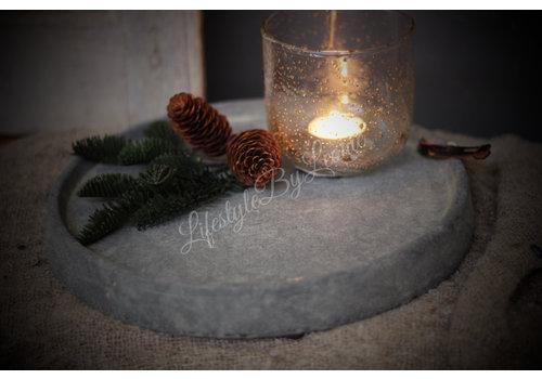 Brynxz Brynxz stenen schaal 'Rope'| 29cm