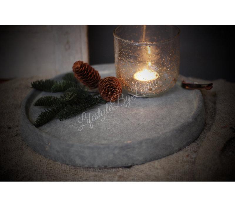 Brynxz stenen schaal Rope 29 cm