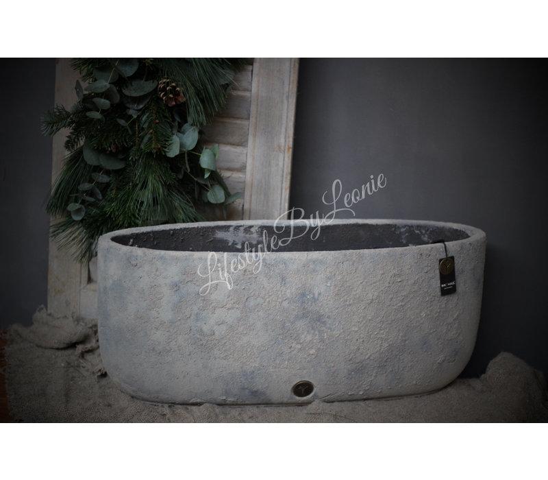 Brynxz grote ovale pot 'Dusty'|56cm