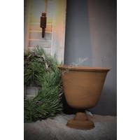Franse louvre pot roest 'Lari' |27cm