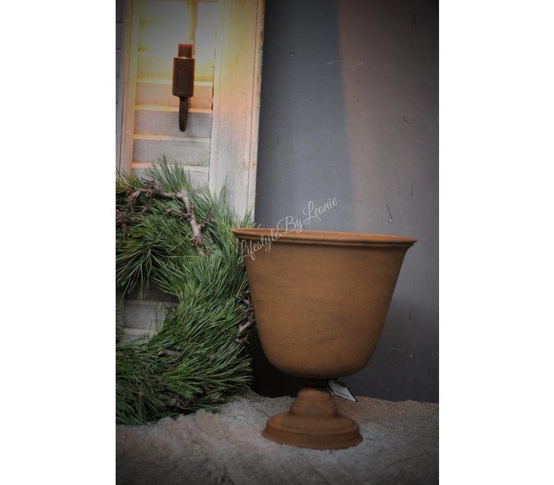 Franse louvre pot roest Lari 27 cm