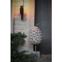 Ornament 'Pine' op statief|27cm