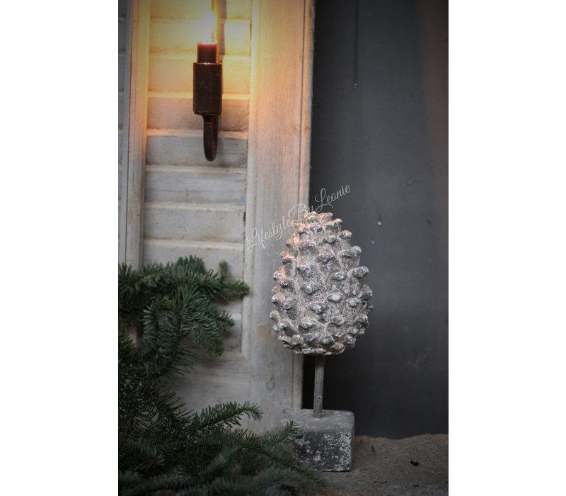 Ornament Pine op statief 27 cm