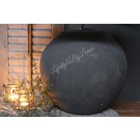 Grote stenen kruiklamp 49 cm