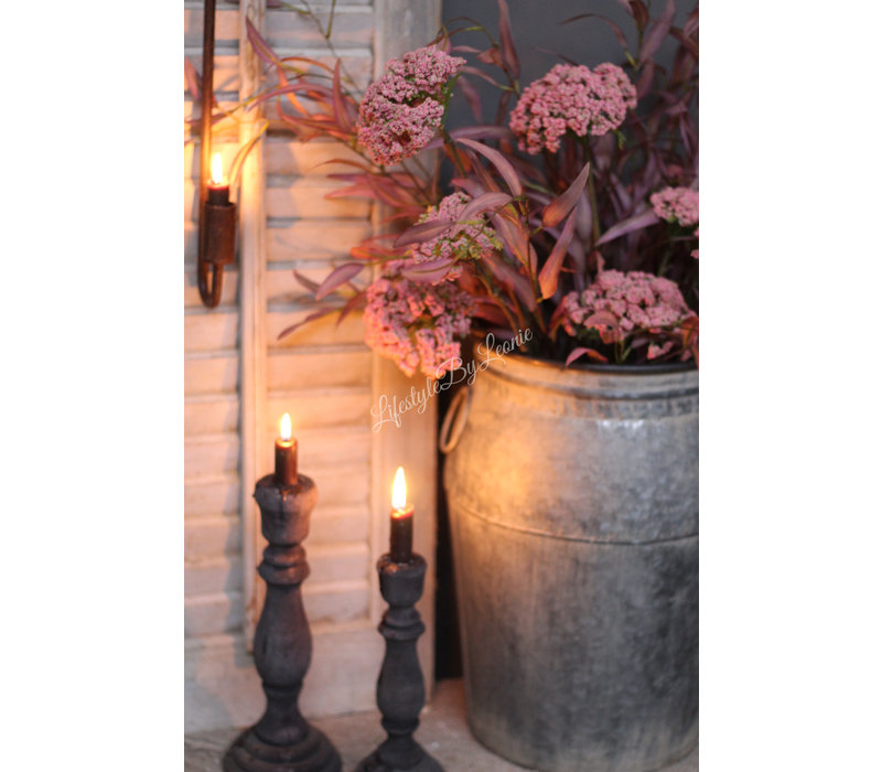 Brynxz zijden dille tak Pink 89 cm
