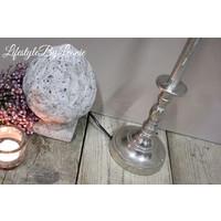 Nikkel lampenvoet Raw 45 cm