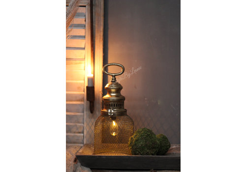 LifestyleByLeonie LED lamp draad Brown 32,5 cm