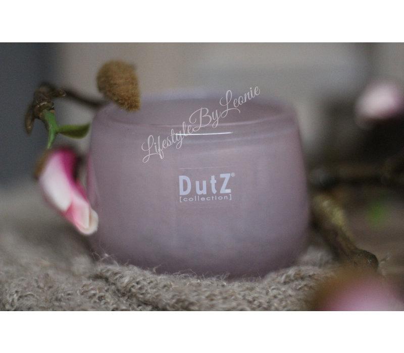 DUTZ round windlicht old rose 8 cm