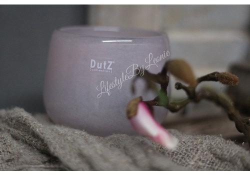 Dutz DUTZ round windlicht old rose 10 cm
