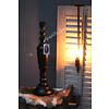 LifestyleByLeonie Zwarte baluster lampvoet Riverdale 52 cm
