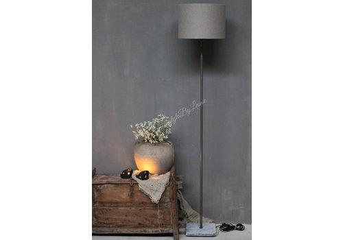 LifestyleByLeonie Vloerlamp recht hardstenen voet 120 cm