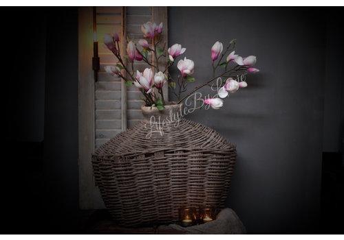 LifestyleByLeonie Grote foam tak Magnolia Light pink 83cm