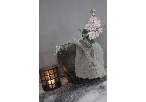 LifestyleByLeonie Shabby linnen doek Hyacinth