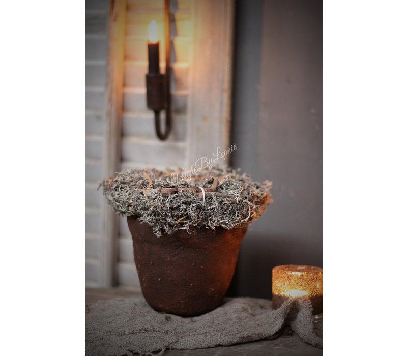 Sobere pot Roest 16 cm