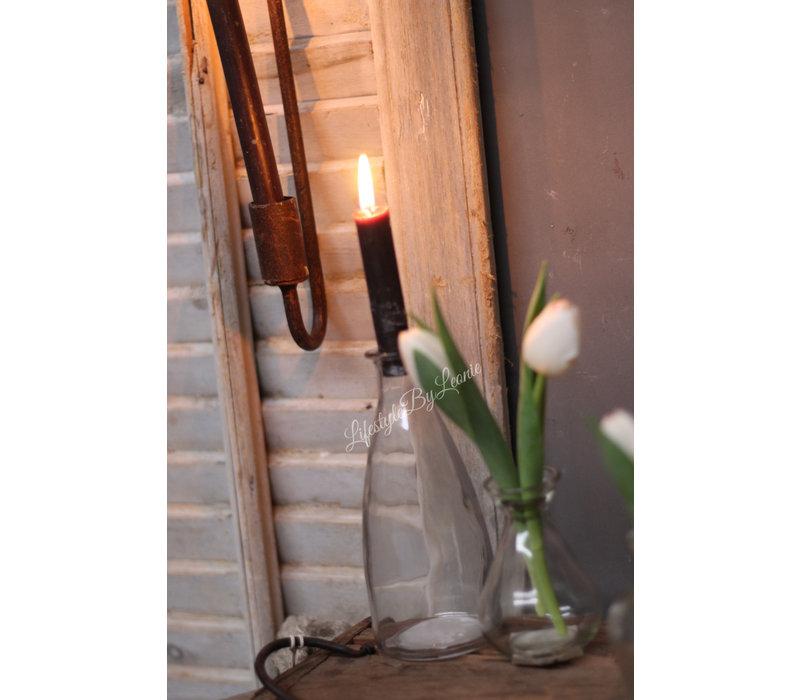 Glazen vaasje Jill 18 cm