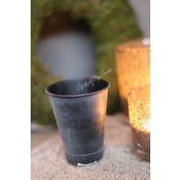 Stoer zinken potje 8 cm