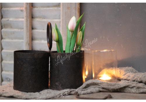 LifestyleByLeonie Namaak tulpen in pot Roze 22 cm