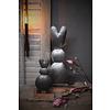 LifestyleByLeonie IJzeren konijn op blokvoet 25 cm