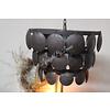 LifestyleByLeonie Metalen Old black schijfjeslamp - maat M
