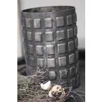 Sober cilinder windlicht Blocks 21 cm