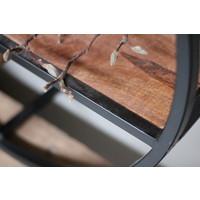 Ronde houten muur organizer