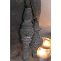 Houten klos Saar cementlook 17 cm
