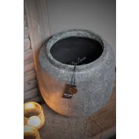 Brynxz Majestic ronde stenen pot 24 cm