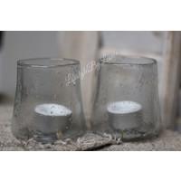 Brynxz glazen windlicht De luxe 9 cm