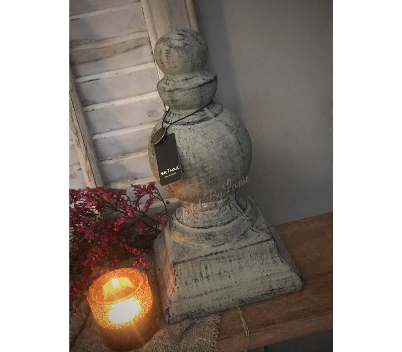 Brynxz stenen ornament Classic brown 31 cm