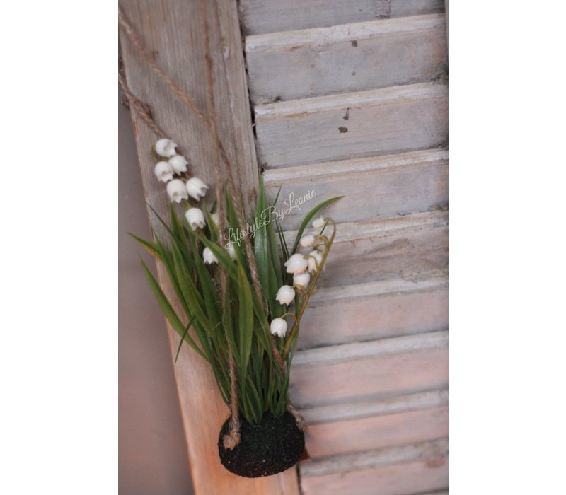 Namaak Lily of the valley op bol 22 cm