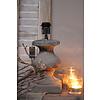 Brynxz Brynxz stenen baluster lampvoet Old brown 25 cm