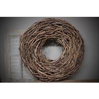 Krans Crazy vine brown 65 cm