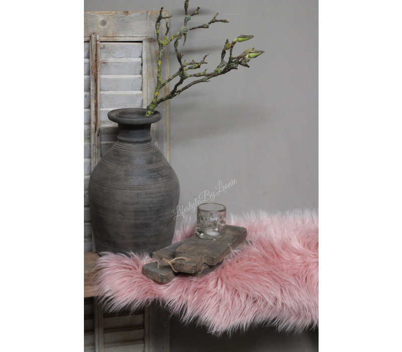 Nep schapenvacht Old pink 60 cm
