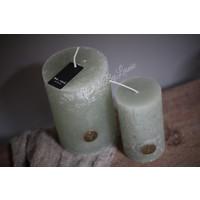 Brynxz stompkaars Sage green 12 cm